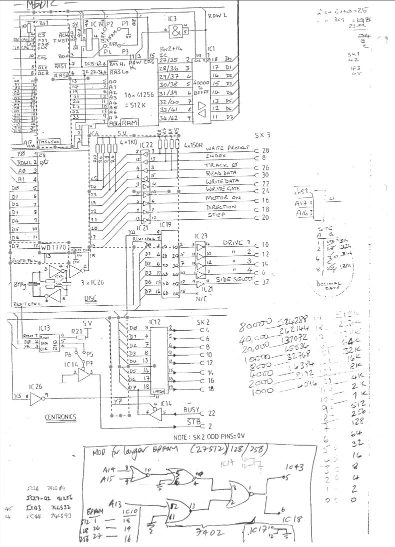 Sinclair Ql Documentation Pinout Further Scart To Vga Cable Diagram In Addition Wiring Circuit Two Parts Of The Medic Expansion Boards